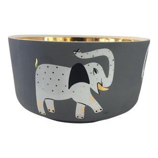 Peruvian Hand Made Elephant Bowl