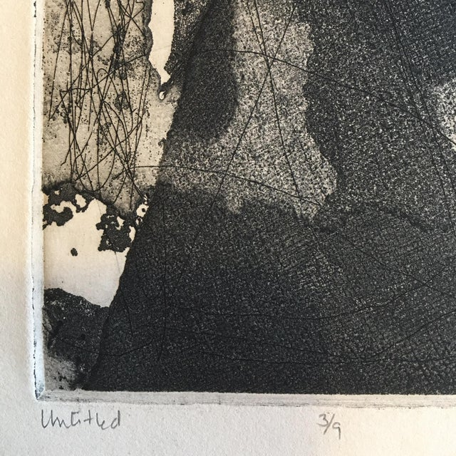 Image of Vintage Original Abstract Lithograph
