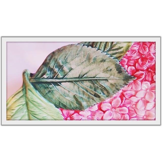 Isabella De Borchgrove Italian Flower Plates - A Pair - Image 7 of 10