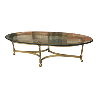 Vintage La Barge Hoof Coffee Table