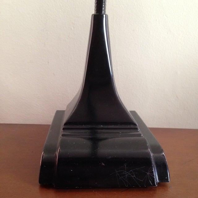 Image of Black Industrial Metal Desk Lamp
