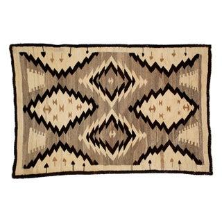 Antique Navajo Rug - 2′10″ × 4′6″