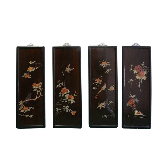 Chinese Scenery Wall Panels - Set of 4 - Image 1 of 7