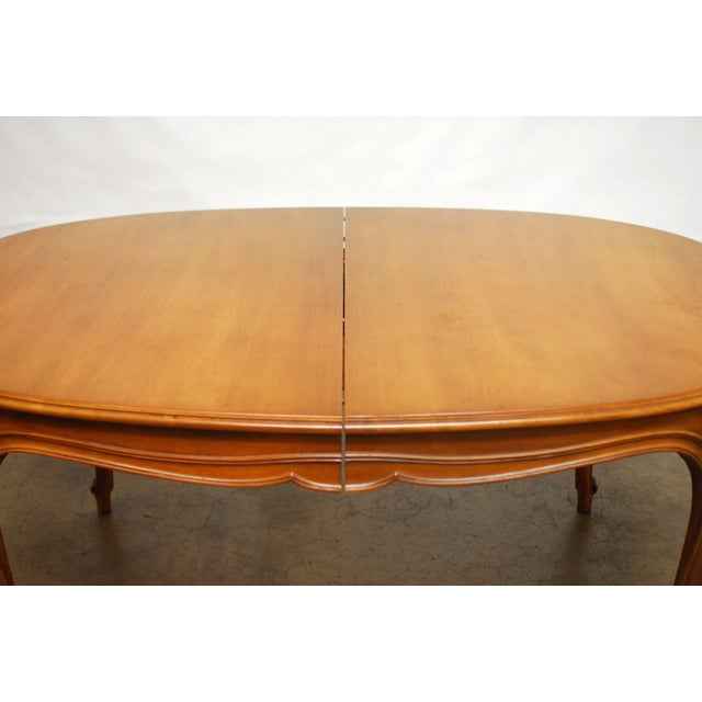 Drexel Vintage French Provincial Dining Table - Image 3 of 6