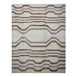 "Aara Rugs Inc. Hand Knotted Navajo Rug - 7'8"" X 9'4"""