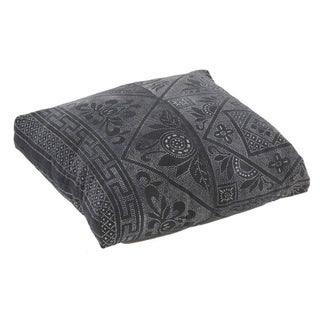Antique Batik Indigo Floor Pillow