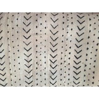 White & Black Mudcloth Fabric