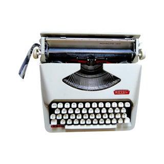 1960s Royal Portable Typewriter Royalite 120