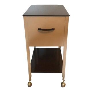 Vintage Metat Cabinet on Casters
