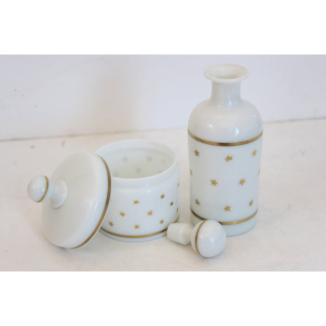 French Portieux Vallerysthal Vanity Set - A Pair - Image 4 of 5