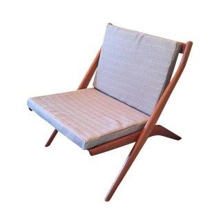 Dux 'Scissor' Chair by Folke Ohlsson