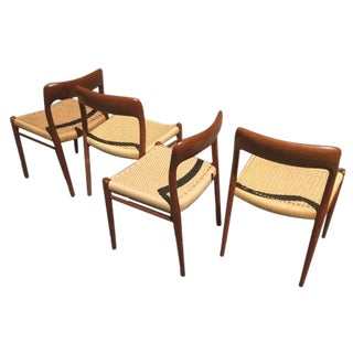 J.L. Moller 75 Teak Dining Chairs - Set of 4