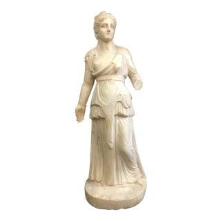 Greco Roman Marble Woman Statue