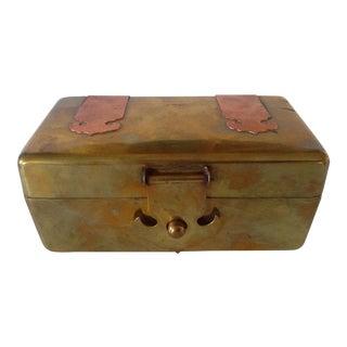 Rustic Brass & Copper Box