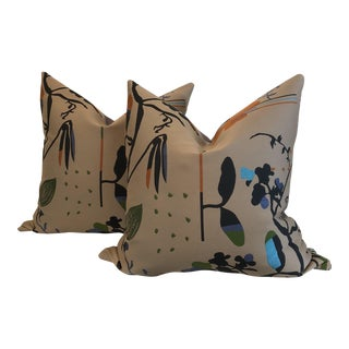 """Maharam """"Eden"""" Pillows - A Pair"""