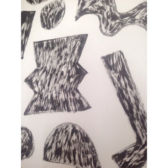 'Alphabet Rough' Ink Drawing - Image 3 of 3