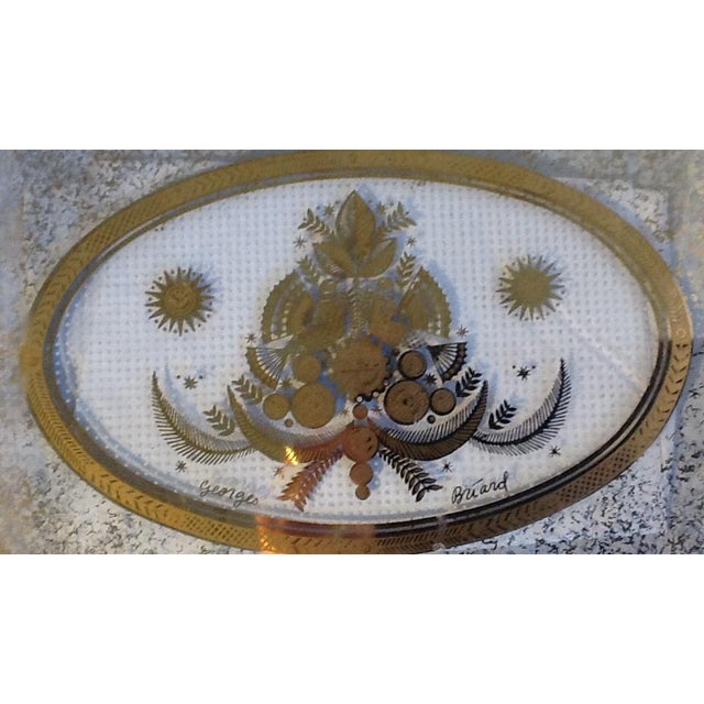 Georges Briard Mid-Century Modern Glass Serving Tray - Image 5 of 5