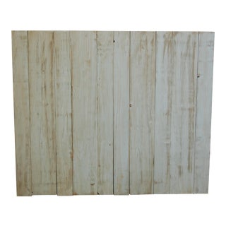 Twin Distressed Baby Blue Barn Walls Headboard