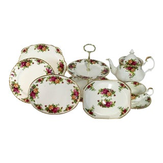 Royal Albert Old Country Roses Tea/Luncheon - S/17