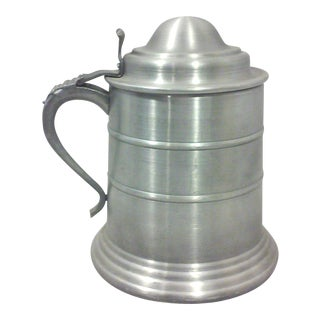 Pewter-Tone Tankard Ice Bucket