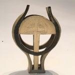 Image of Mid-Century Modern Studio Pottery Sculpture