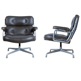 Discontinued Time Life Lobby Lounge Chairs by Charles Eames for Herman Miller