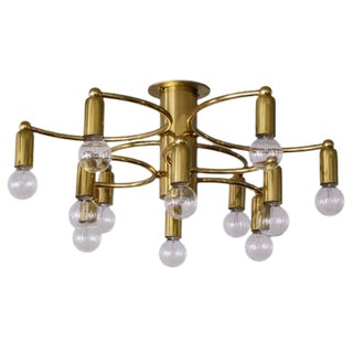 12-Light Flush Mount Light by Sciolari