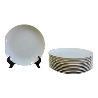 Eva Zeisel White Dinner Plates - Set of 12