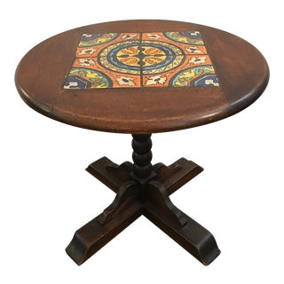 Spanish Revival Tile Table