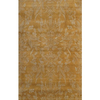 Hand-Knotted Modern Rug - 6' X 9'