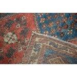 "Image of Distressed Antique Persian Square Rug - 3'3""x3'10"""