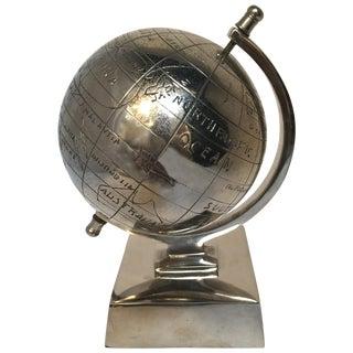 Sliver Metal Globe