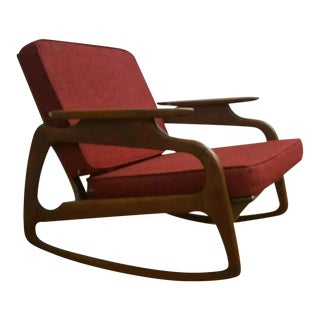 Adrian Pearsall Mid-Century Rocking Chair