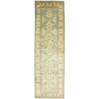 "Traditional Hand Knotted Runner - 3'2"" X 10'1"""