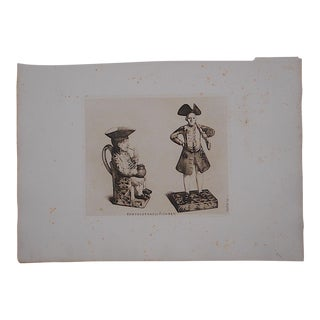 "Antique ""English Pottery"" Ltd. Ed. Etching"