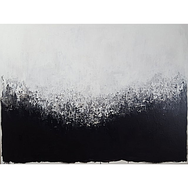 "ArtSeya ""Snowy Mountain"" Original Painting - Image 1 of 2"