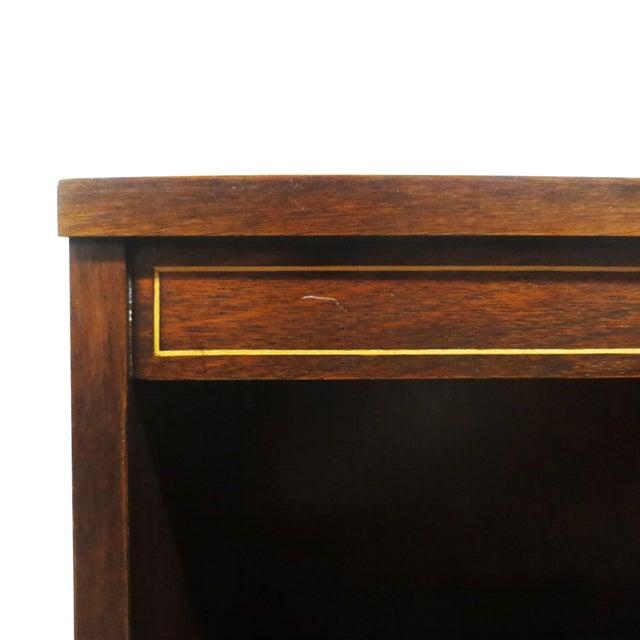 Image of Inlaid Mahogany Bookcase