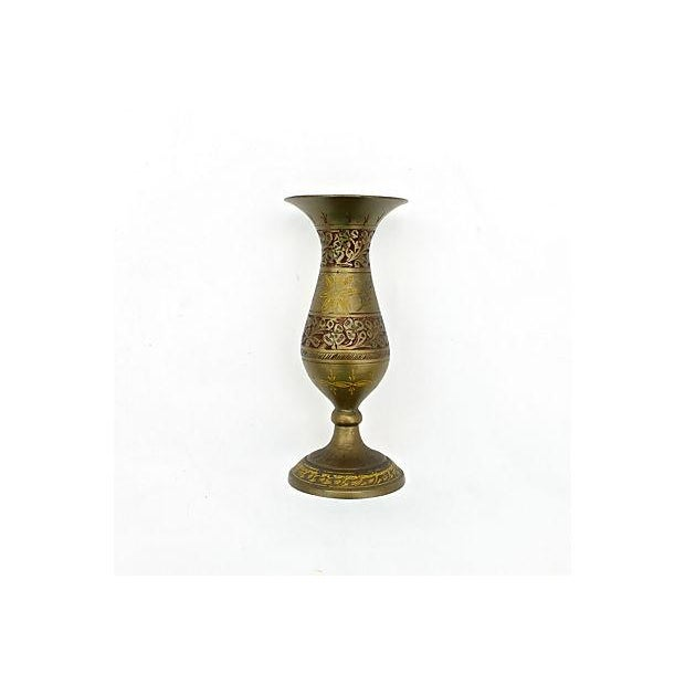 Indian Fluted Vases - A Pair - Image 6 of 9
