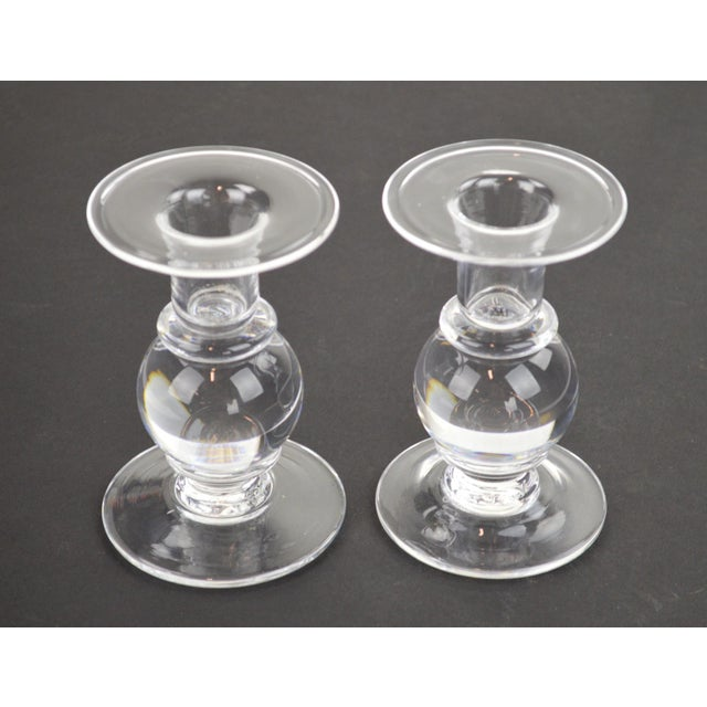 Simon Pearce Candlesticks - A Pair - Image 7 of 7