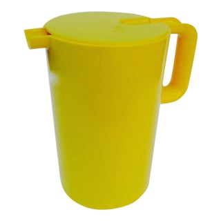 Heller Yellow Lidded Pitcher