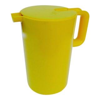 Heller Yellow Lidded Pitcher