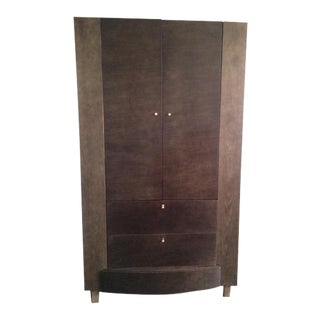 Contemporary Solid Wood Armoire