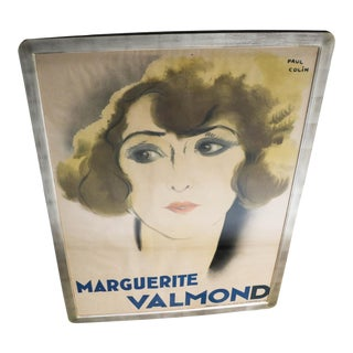 Original French Art Deco Period Poster by Paul Colin 1928