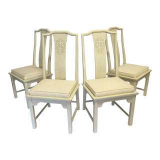Century Furniture Chinoiserie Dining Chairs - Set of 4