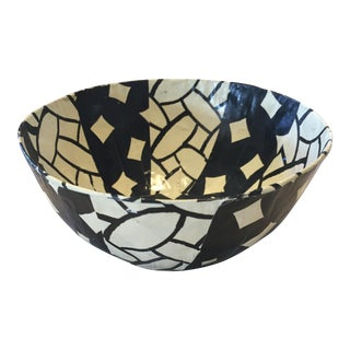 South African Tribal Patterned Paper Bowl