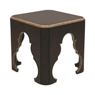 Century Furniture Moroccan Ash Wood Cube Table