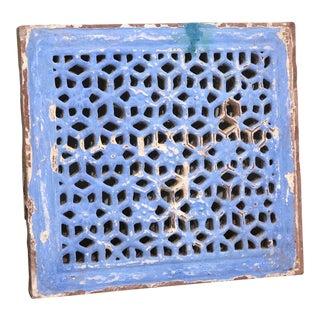 Antique Painted Mandir Stone Jali