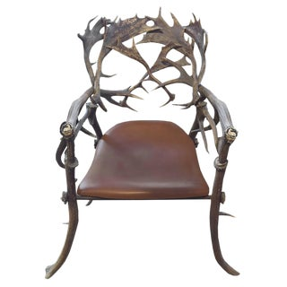 19th Century Bavarian Hunting Lodge Armchair