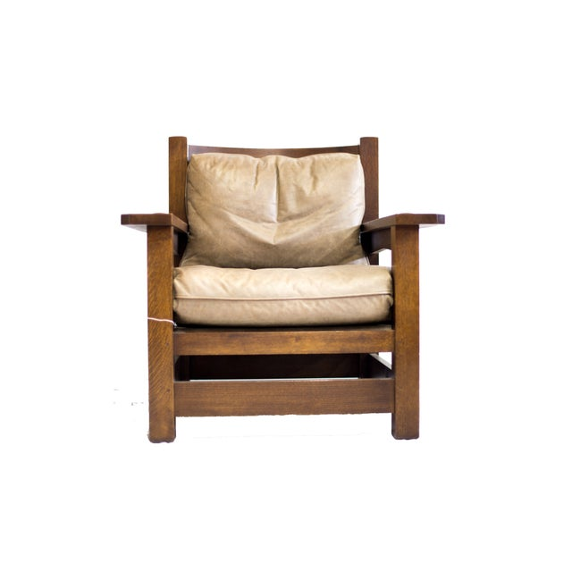 Stickley Co. Eastwood Chair And Ottoman - Image 2 of 10