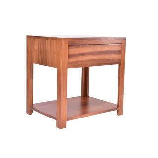 Contemporary Solid Pine Nightstand